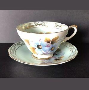 Royal Sutherland Teacup & Saucer
